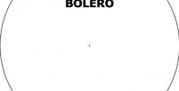 [BOLERO001] Bolero